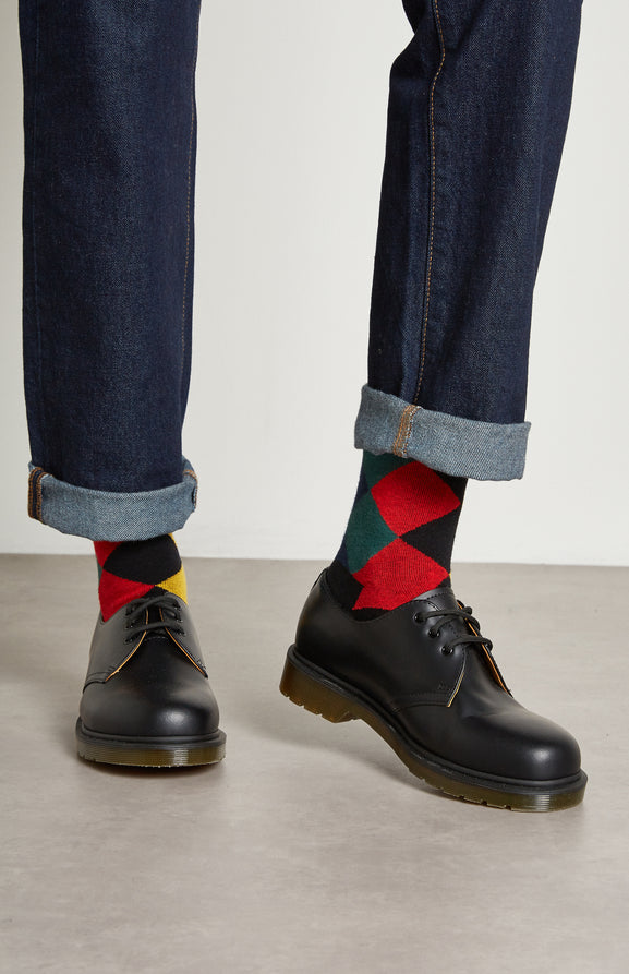 Women's Harlequin Argyle Socks