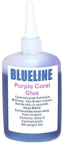 Blueline Purple Coral Glue
