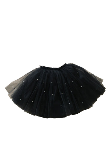 Black Beaded Tutu Skirt