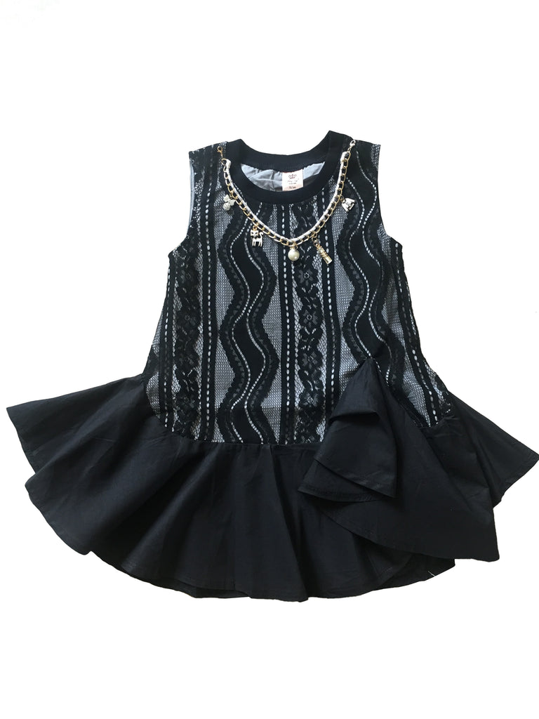 Black Coco Lace Dress