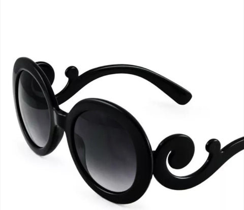 Preorder-Kids Baroque Swirl Sunglasses