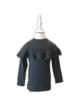 Kids Gray Long Sleeve Knit Top