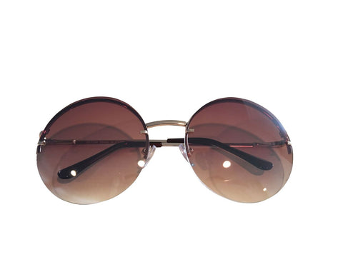 Women Hippie Circle Sunglasses