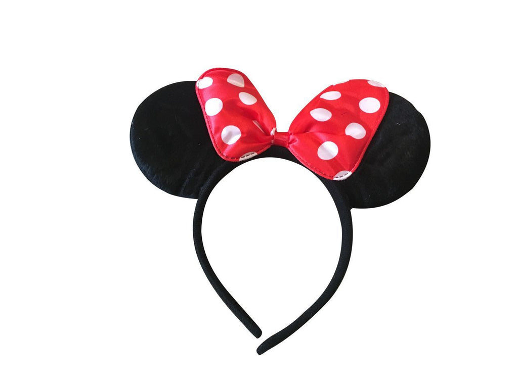 Minnie Ears Headband-Big Bow