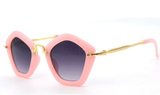 Kids Miu Pentagon Shaped Sunglasses