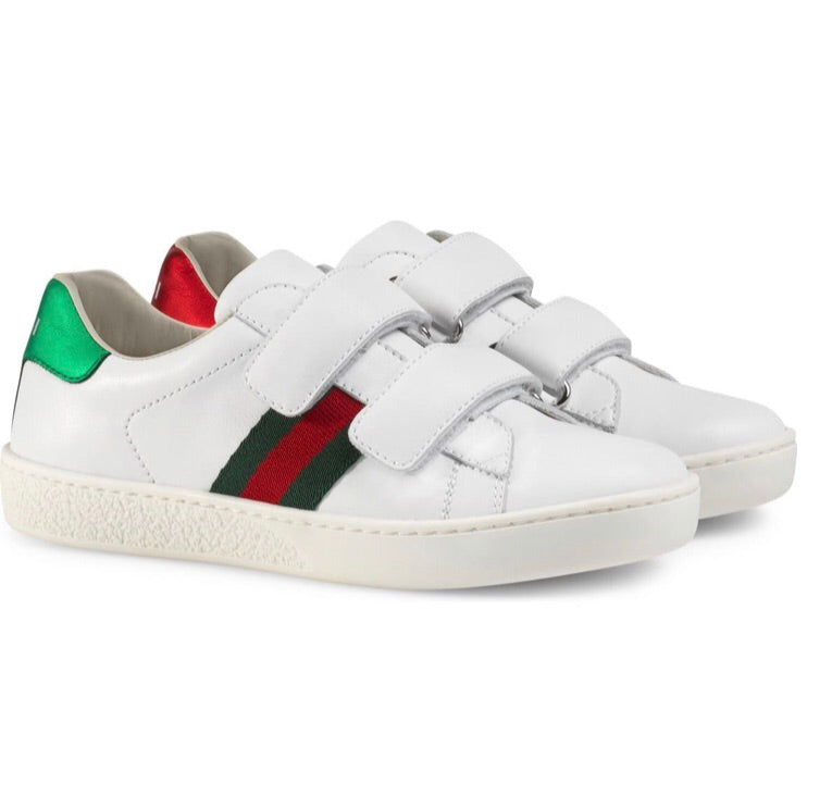 GG Ace Striped Sneakers