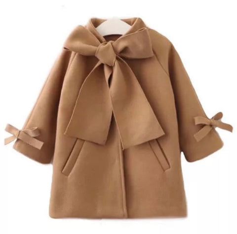Cute Bow Coat