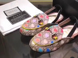 GG Princetown Color Heart Loafers