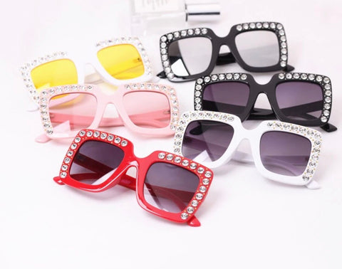 Kids Square Bling Sunnies