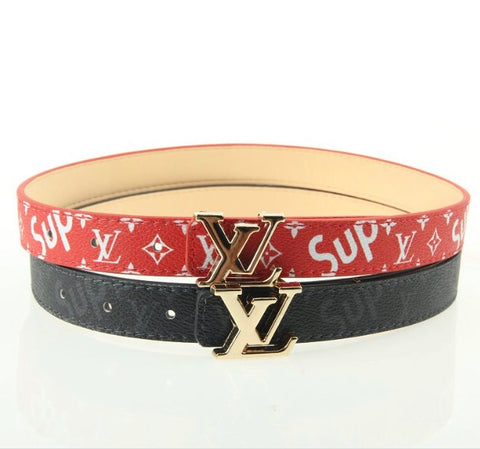 LV Supreme Inspired Belt