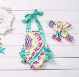 Lilly Romper with Matching Headband