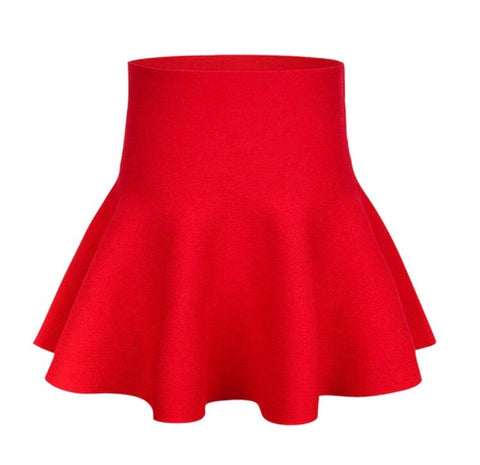 Kids Red Skirt