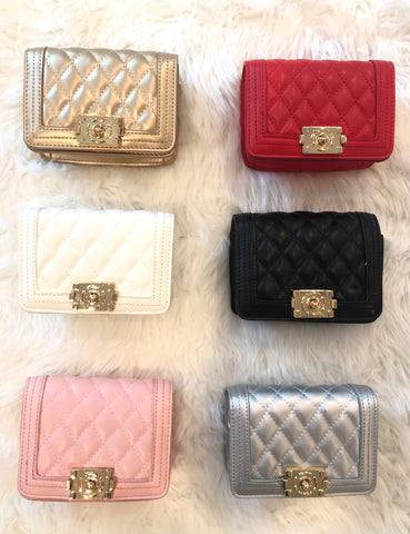 Fashionista Quilted Purse