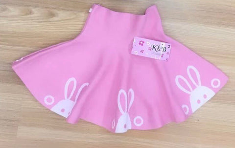 Pink Easter Bunny Skirt