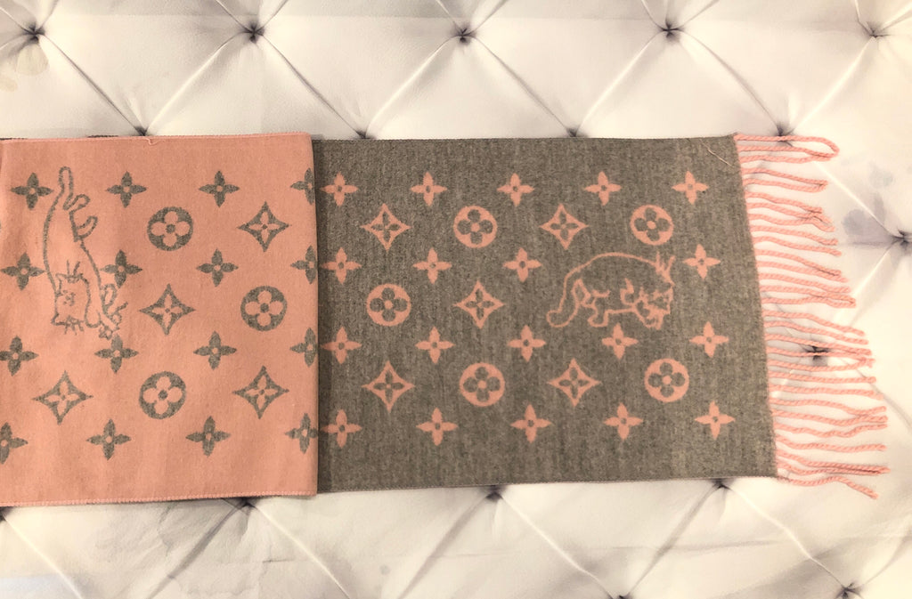 LV Inspired Scarves