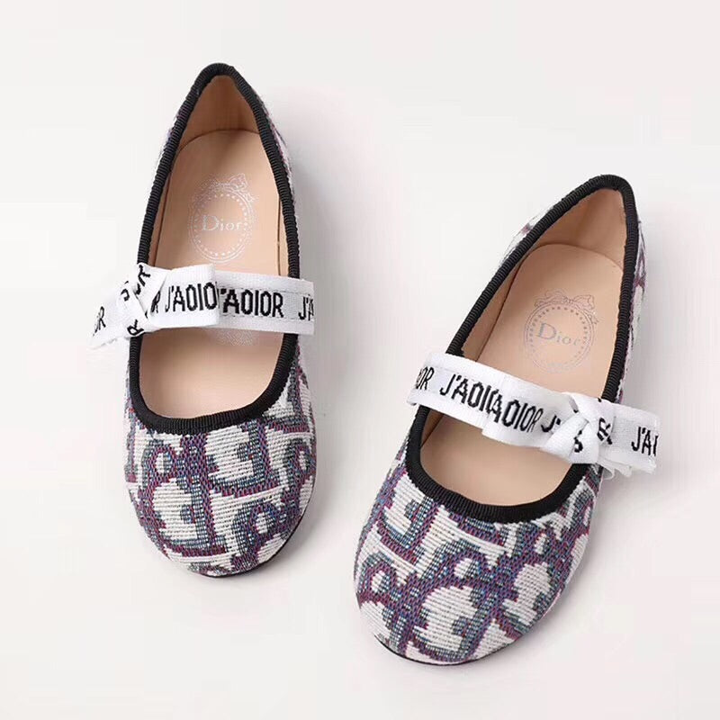 Kids Dior inspired flats