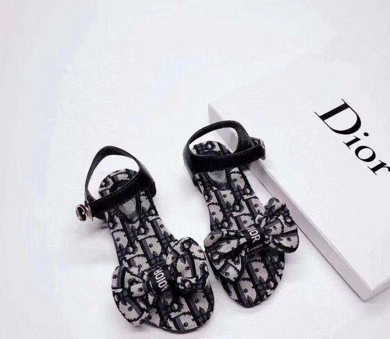 Dior inspired bow sandals