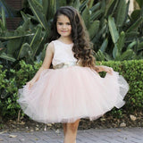 Harlow Pink Couture Dress (Sizes 6 months- 8 years)