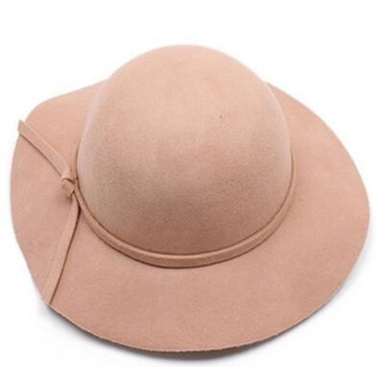 Kids Floppy Hat-Beige