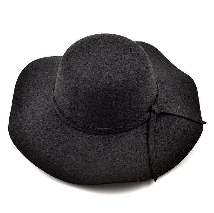 Kids Floppy Hat Black