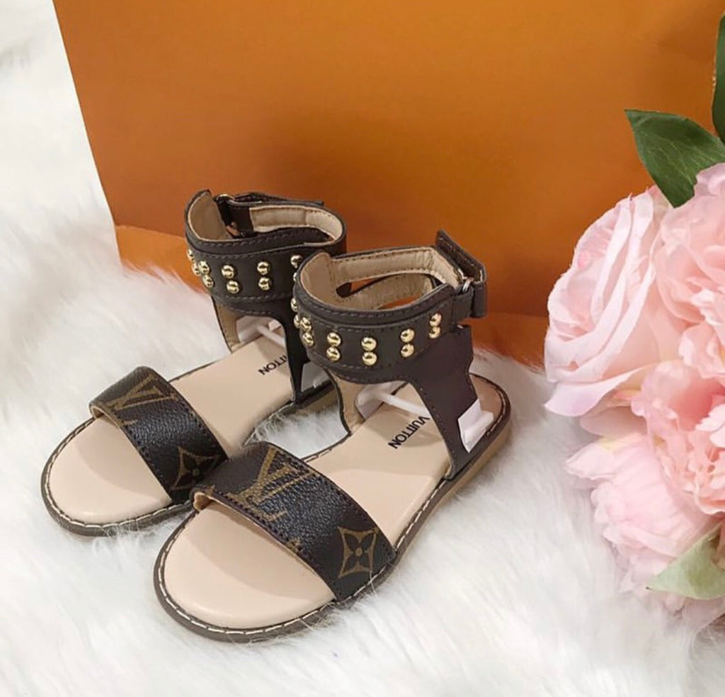 Kids LV Summer Sandals