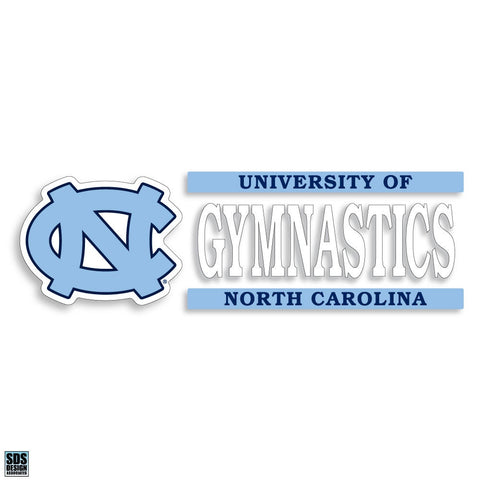 University of North Carolina Gymnastics Decal