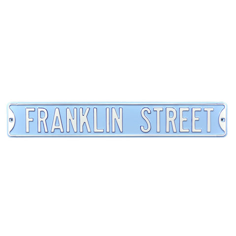 North Carolina Tar Heels Authentic Street Signs Franklin Street