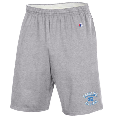 Jersey Short by Champion - North Carolina Tar Heels Grey Cotton Mens Shorts