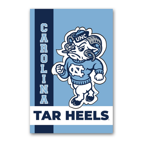 North Carolina Tar Heels Magnolia Lane Strutting Ram Garden Flag