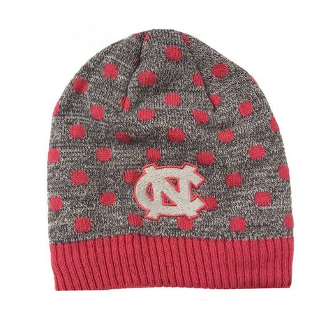 North Carolina Tar Heels Top of the World Polka Dot Baby Beanie