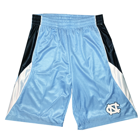 North Carolina Tar Heels Colosseum Logo Navy & White Side
