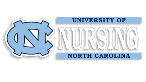 University of North Carolina Nursing Decal