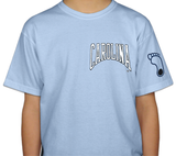 UNC Tar Heels Austin Station - Youth Carolina Camp T-Shirt