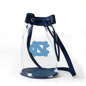 UNC Clear Purse - Madison Clear Bucket Bag