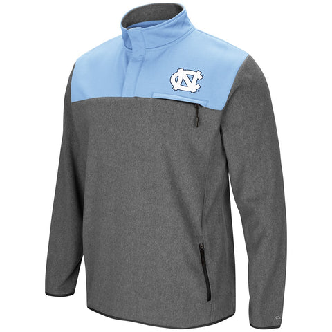 North Carolina Tar Heels Colosseum Mens You Can Do It 1/2 Snap Fleece