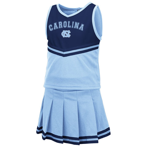North Carolina Colosseum UNC Toddler Cheer Set