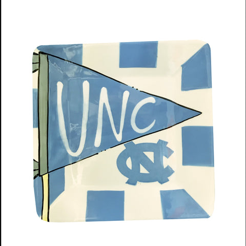North Carolina Tar Heels Magnolia Lane Pennant Plate