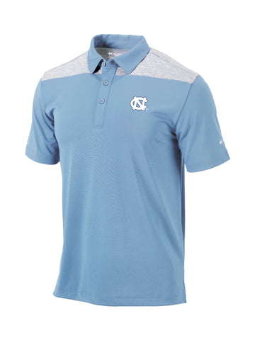 North Carolina Tar Heels Columbia Omni-Wick Utility Polo