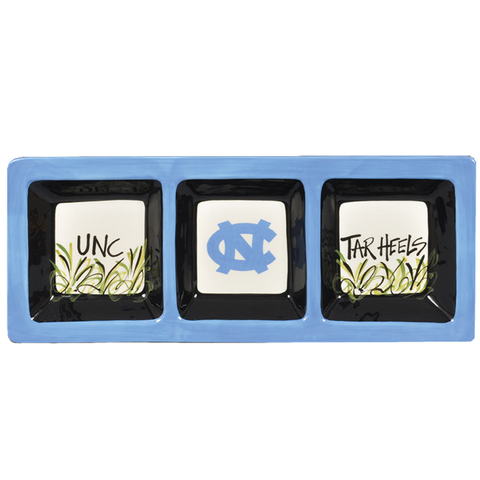 North Carolina Tar Heels Magnolia Lane Rectangle Serving Tray