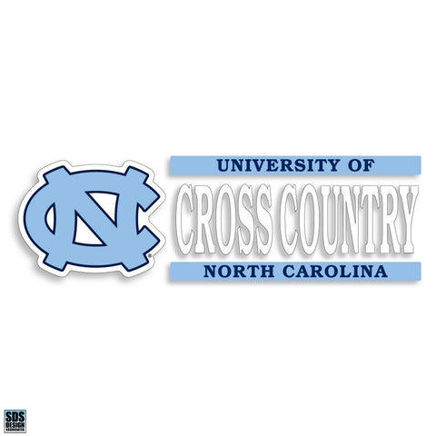 University of North Carolina Cross Country Decal