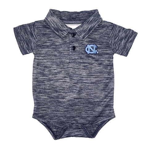 North Carolina Tar Heel Golf Polo Creeper Bodysuit