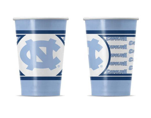 North Carolina Tar Heels Duck House Sports Partyware Cups  (20 Pack)
