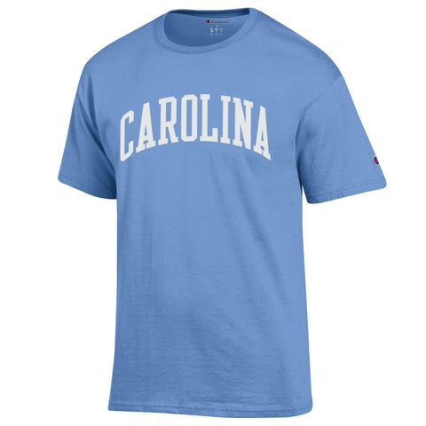 Staple Tee - Light Blue Carolina T-Shirt by Champion