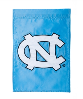 North Carolina Tar Heels Evergreen NC Interlock Garden Flag