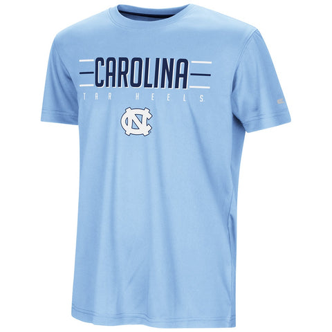North Carolina Tar Heels Colosseum Youth Anytime! Anywhere! T-Shirt - Carolina Blue - Front