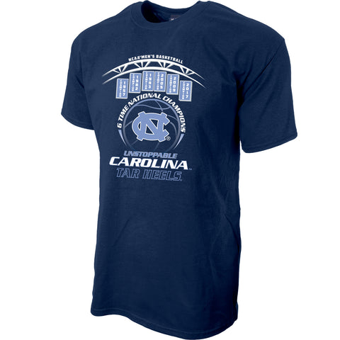 North Carolina Tar Heels 2017 NCAA Men's Basketball National Champions Alexrod T-Shirt - Navy
