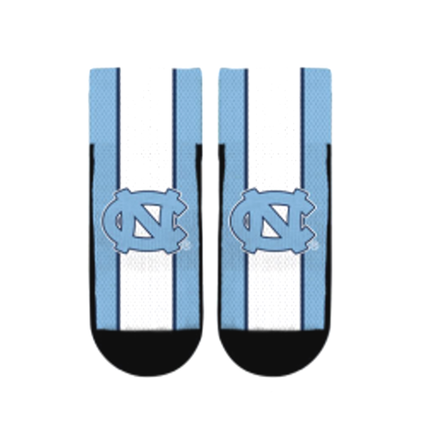 North Carolina Tar Heels Rock'Em Jersey Strike Quarter Socks - Carolina Blue