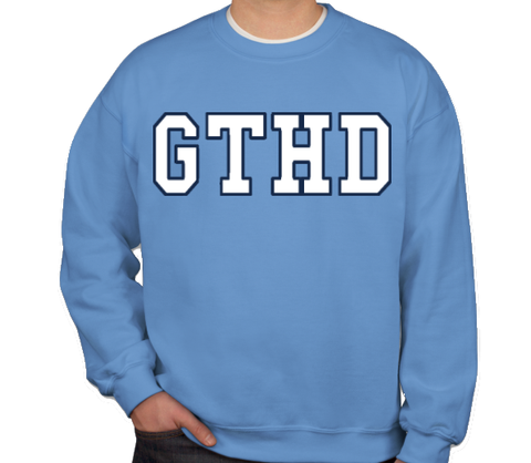 SHB Carolina Blue GTHD Crewneck Sweatshirt