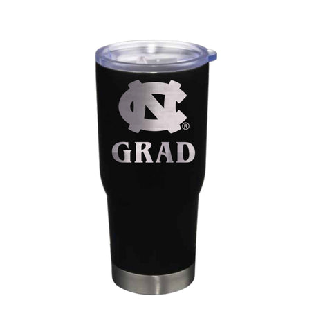 UNC GRAD Tumbler Stainless Steel 22 Oz