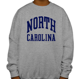North Carolina Tar Heels Classic Youth Crewneck Sweatshirt